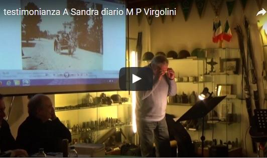 Diario di Maria Pia Virgolini (Sevegliano, 1909)