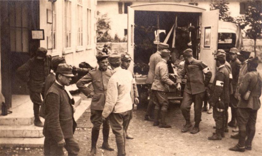 OLTRECONFINE 1918/2018, storie e memorie di Grande Guerra a Romans d'Isonzo e Trivignano Udinese